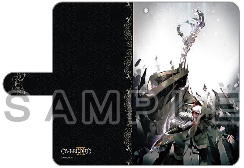 a3d1bb0c2c [オーバーロードⅢ]手帳型スマホケース(アインズ・ウール・ゴウン)汎用Lサイズ【カーテン魂】